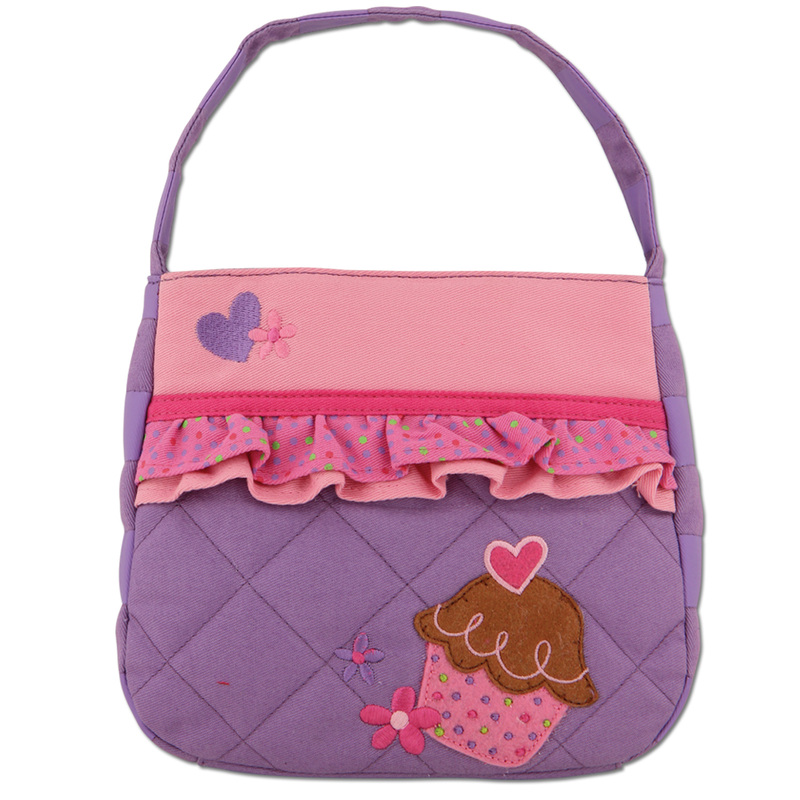 Quilted Cupcake Purse for Little Girls