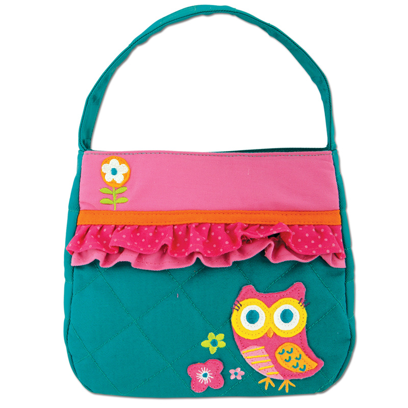 Quilted Owl Purse for Girls